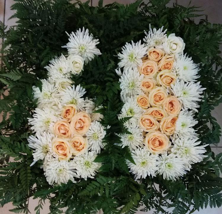 פרחים חיים עיצובית