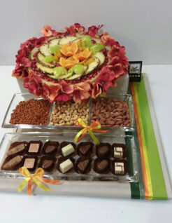 """פירות, פיצוחים ושוקולד לט""""ו בשבט"""