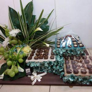שוקולד בלגי ופרחים