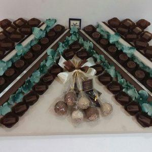 קומות שוקולד בלגי